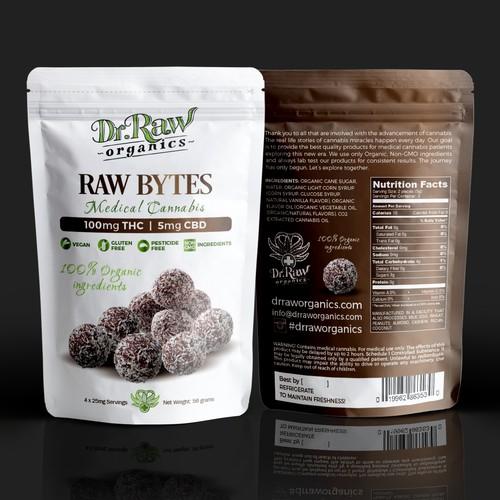 DrRaw Organic Bytes THC, CBD