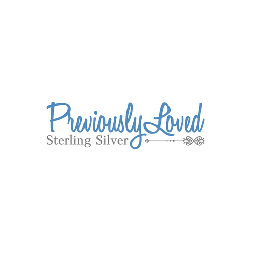 logo design for previously loved sterling silver