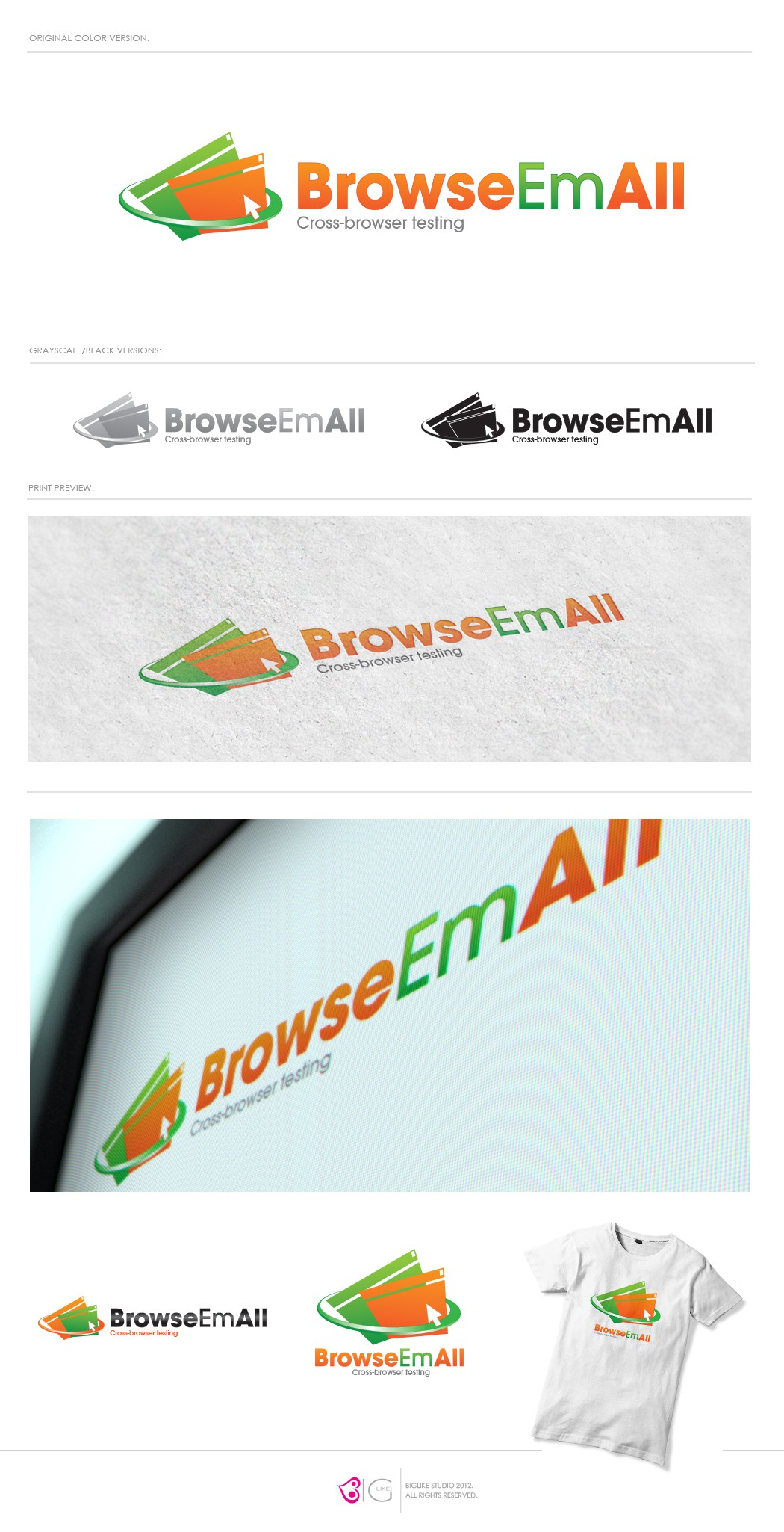 BrowseEmAll needs a new logo
