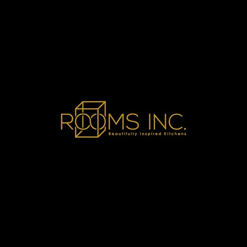 Logo concept for Rooms Inc.