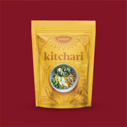 Pouch design for Kitchari
