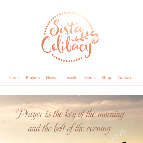 Sista Celibacy Logo and Website Design Contest
