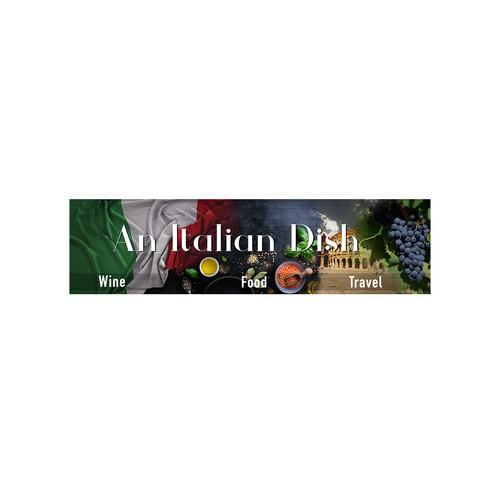 An Italian Dish / Blog Banner