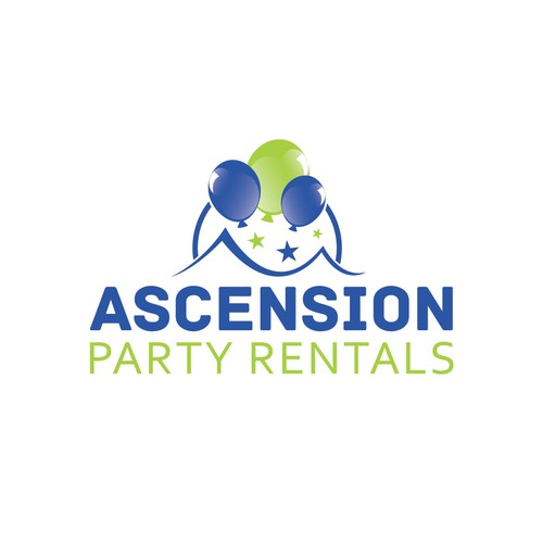 Have a party while creating Ascension Party Rentals logo