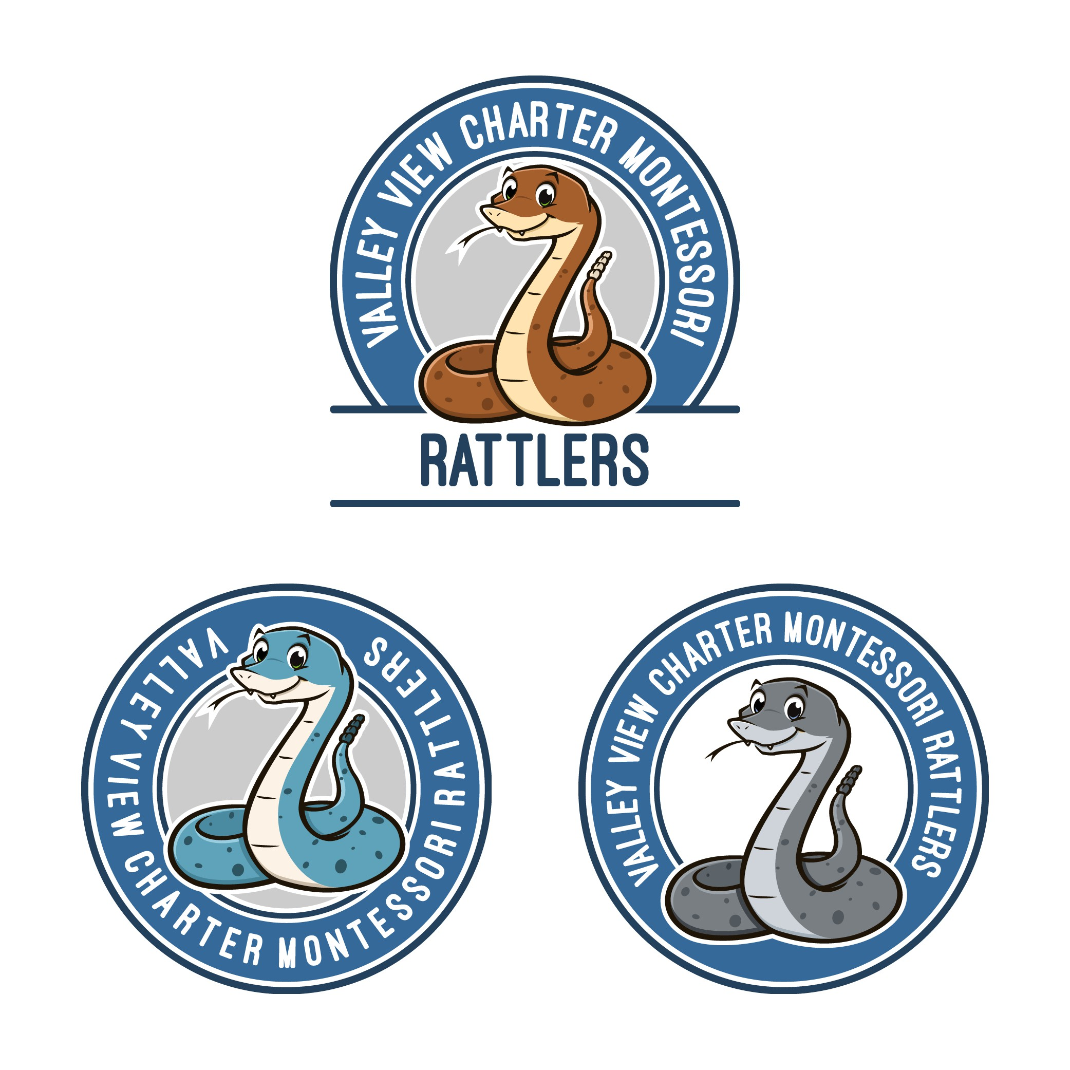 Brand New K-8 School just opened and you can be the one who designs the logo!!  We are The Rattlers (Rattlesnakes). Go R