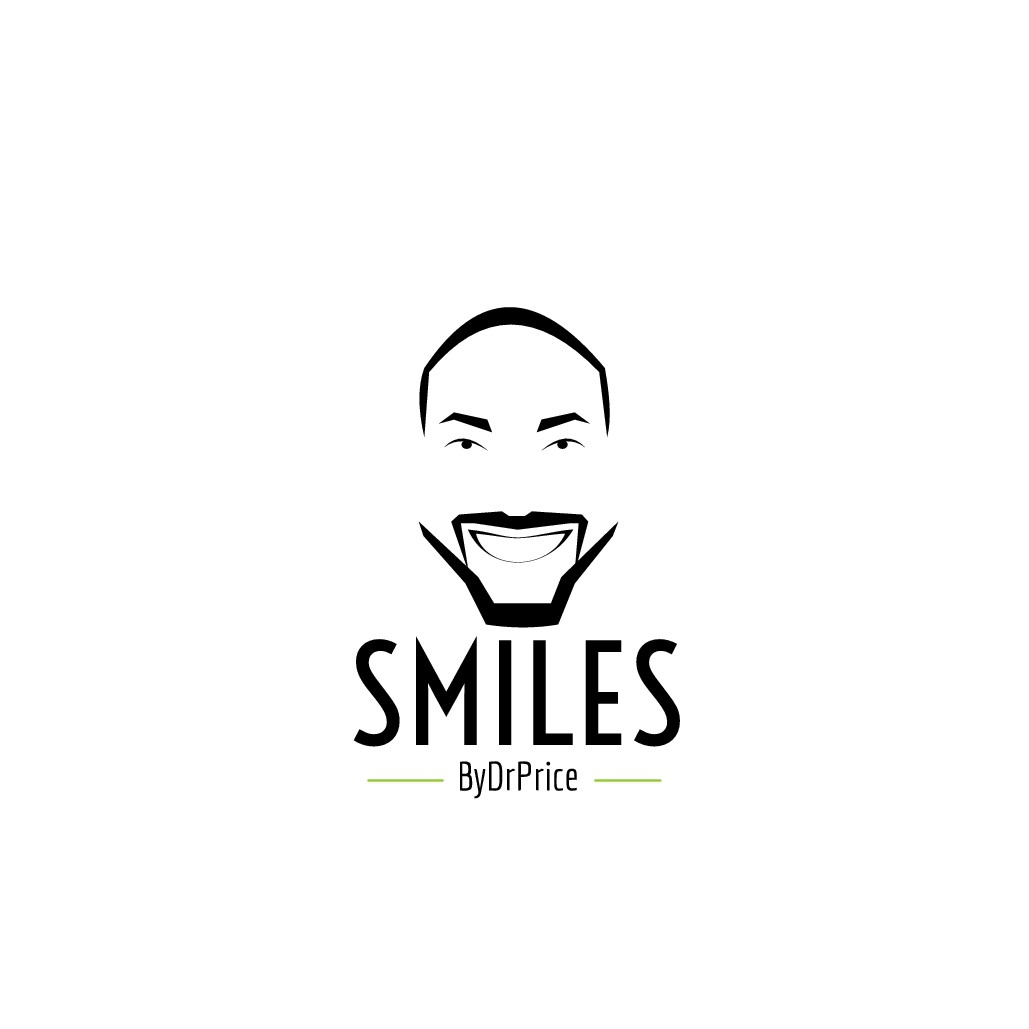 Hipster logo for Cosmetic Dentist SmilesByDrPrice