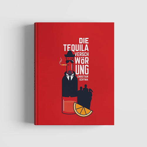 Fictional Book Cover Design