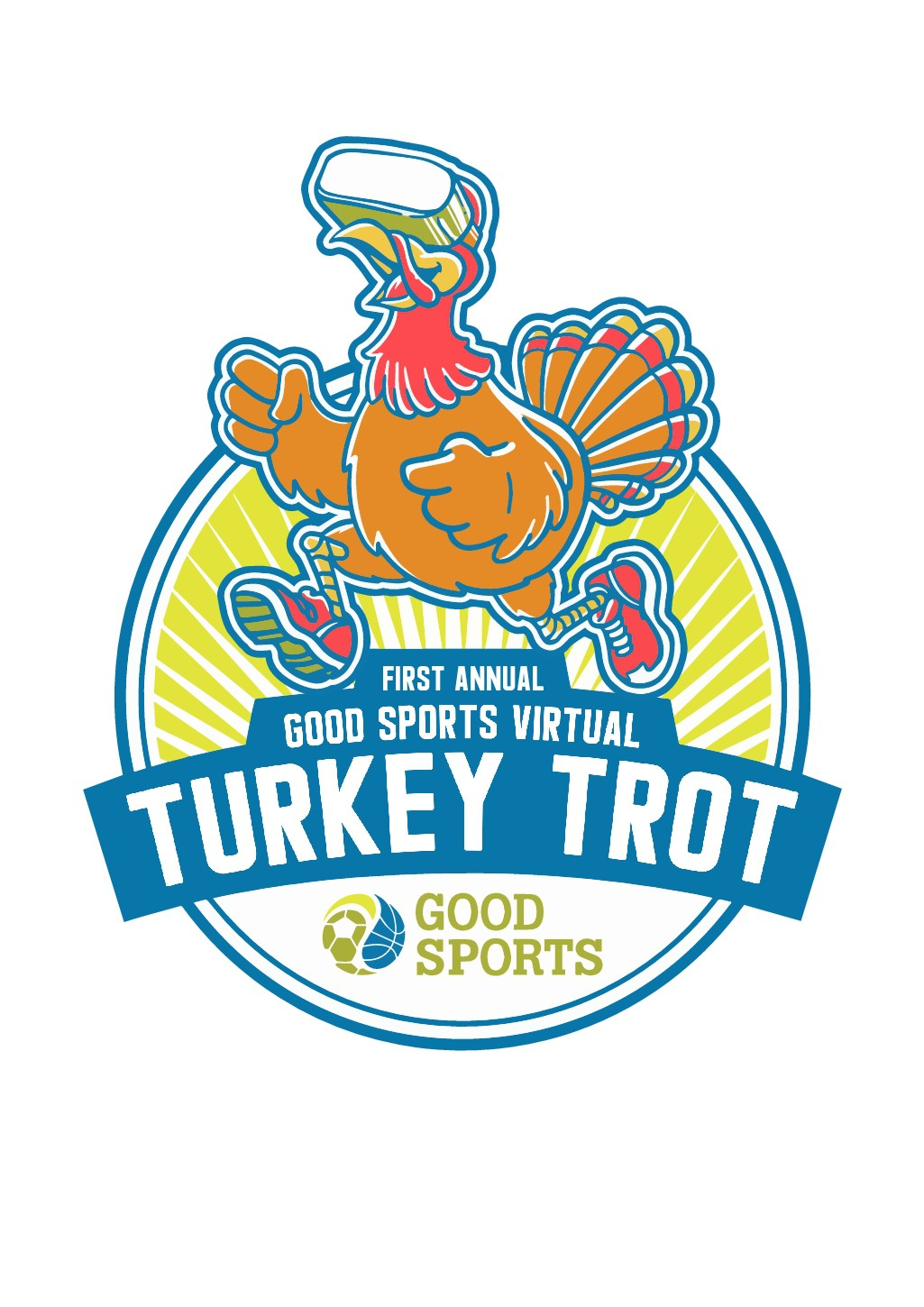 Virtual Turkey Trot T-Shirt Logo