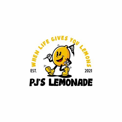 Retro mascot logo