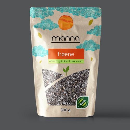 organic seeds- standup pouch