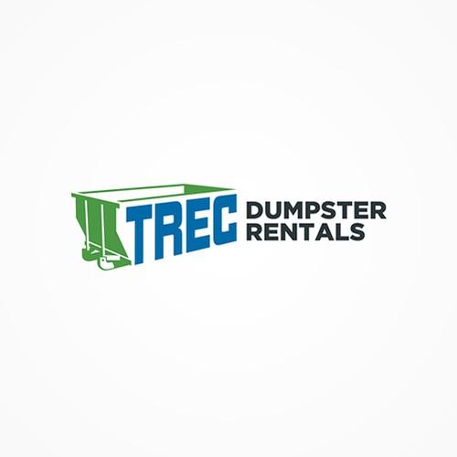 Dumpster Rental Company Logo