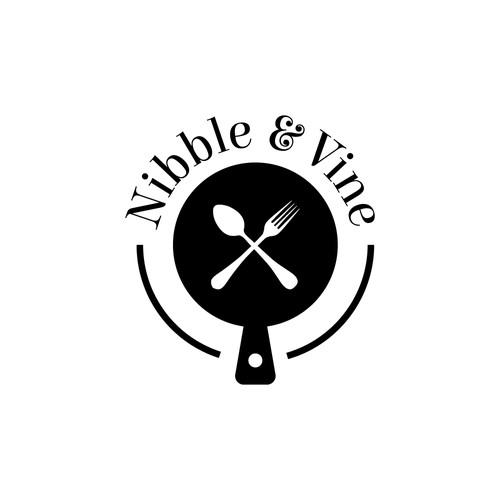 Nibble & Vine Logo Design