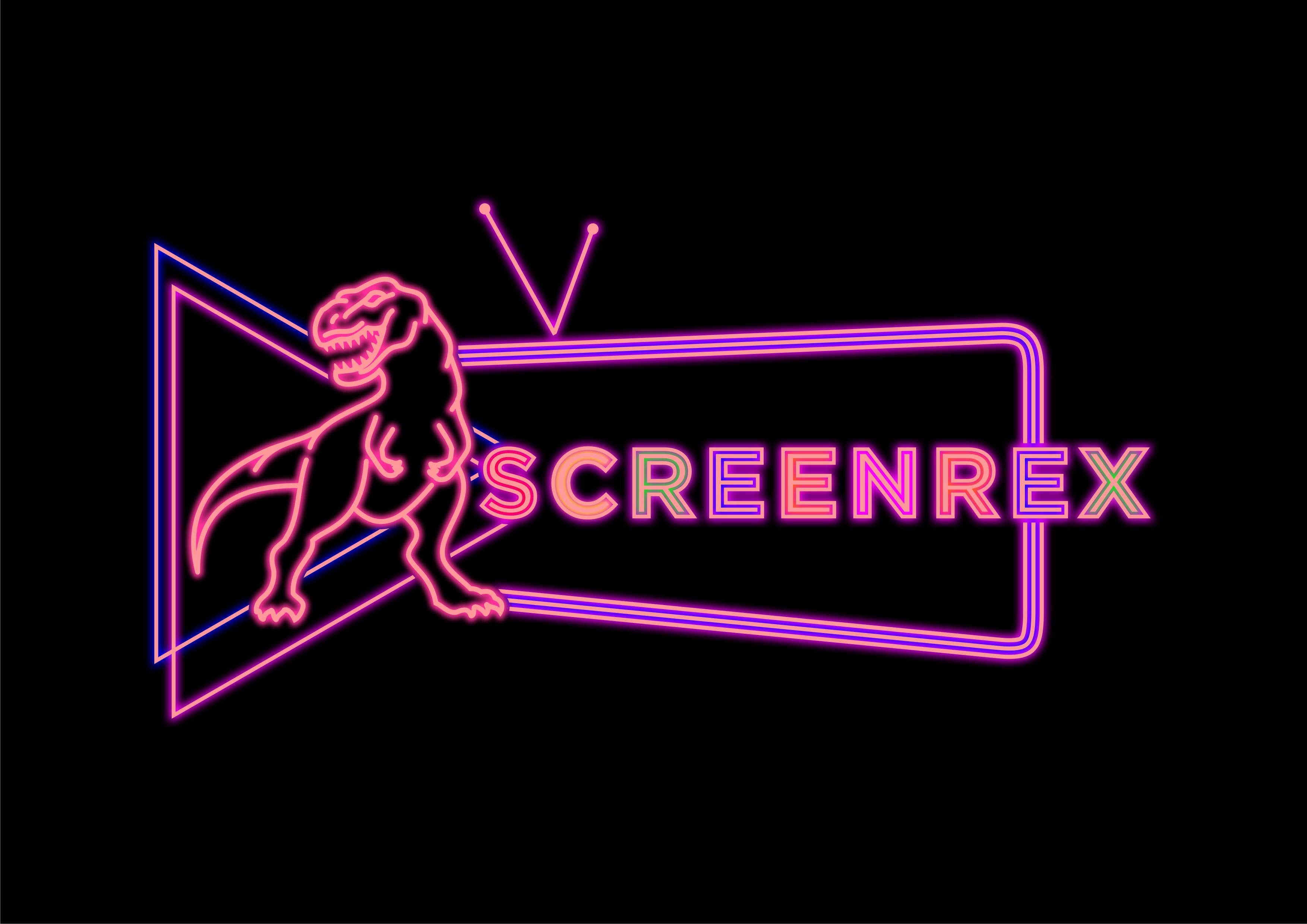 Pop Culture Website Seeking 80's Neon Dinosaur Aesthetic!