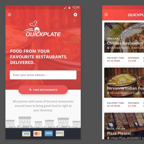 QuickPlate - Premium Food Felivery Service