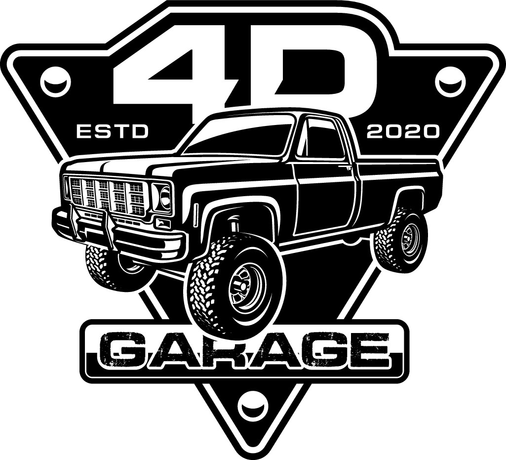 Logo for sign and apparel for new startup automotive garage