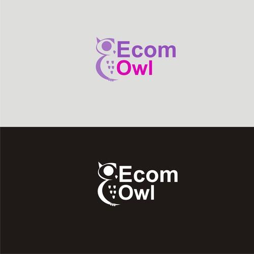 Creative logo for e-commerce accountant EcomOwl