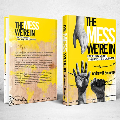 Book cover design for The Mess We're In