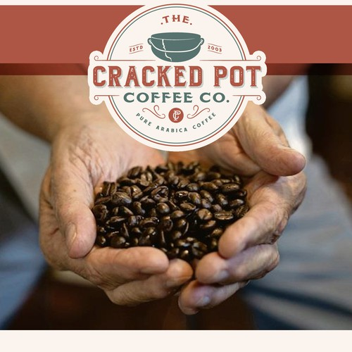 Logo for Cracked Pot Coffee Co.