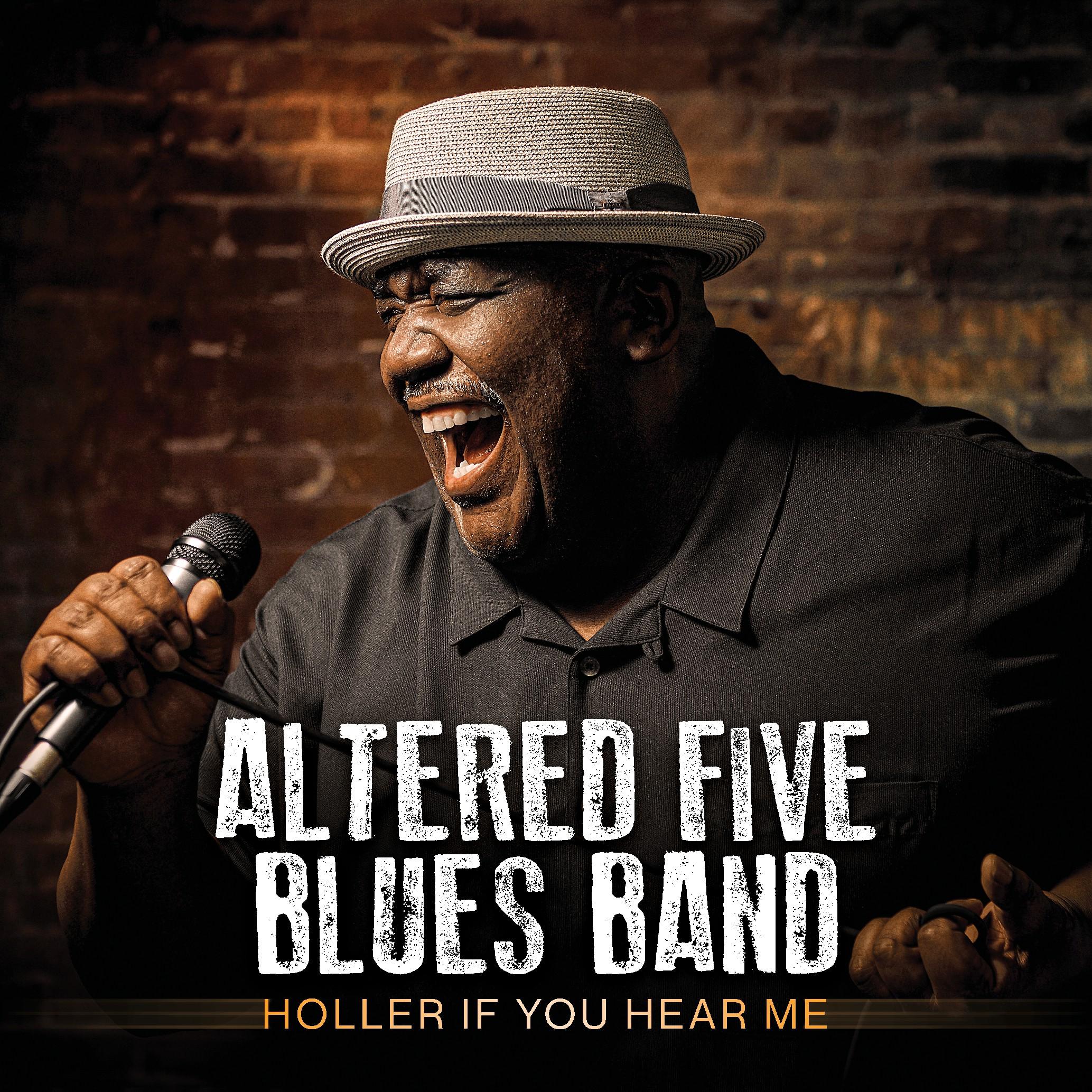 Design the album cover for a popular contemporary blues band