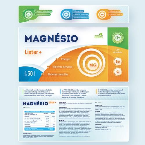 Magnesio packing design