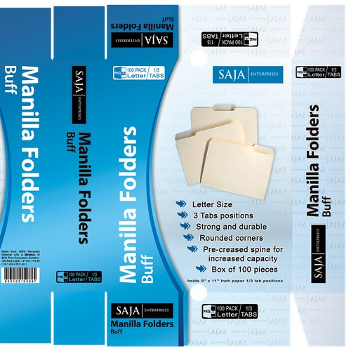 Make Manilla File Folders Look Awesome With An Incredible Box Design