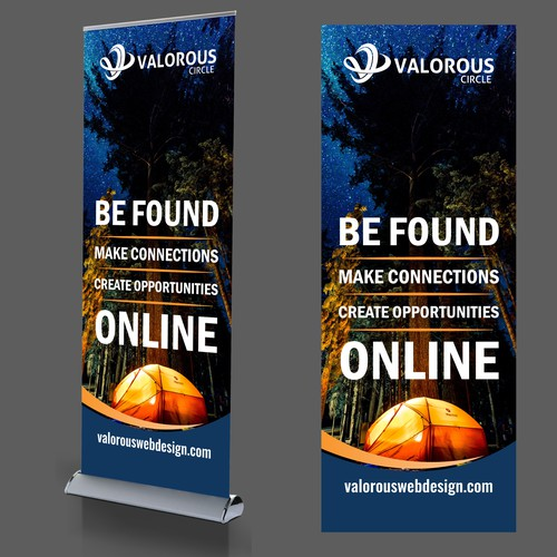 Pull Up Banner for Valorous Circle
