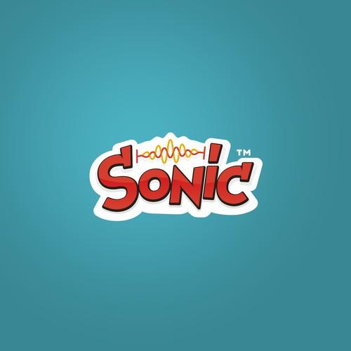 Custom lettering logo for snack brand