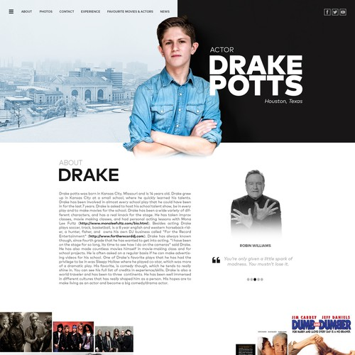 Portfolio webpage
