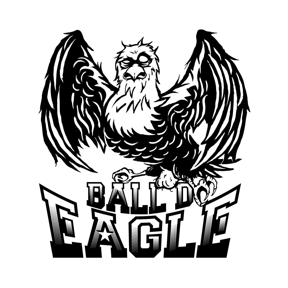 Ball'd Eagle Logo Rev1