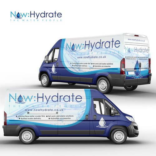 Now Hydrate Full Wrap Design