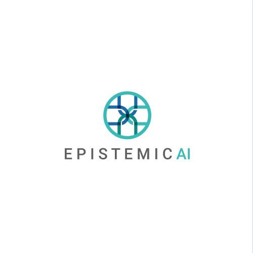 Unique Logo + Simple Landing Page Theme for AI Company