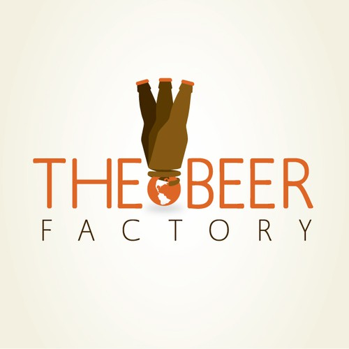 >>>>THE BEER FACTORY [Logo Design for A Bar ]<<<<