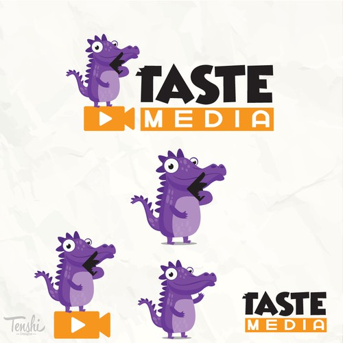 Crocodile media design