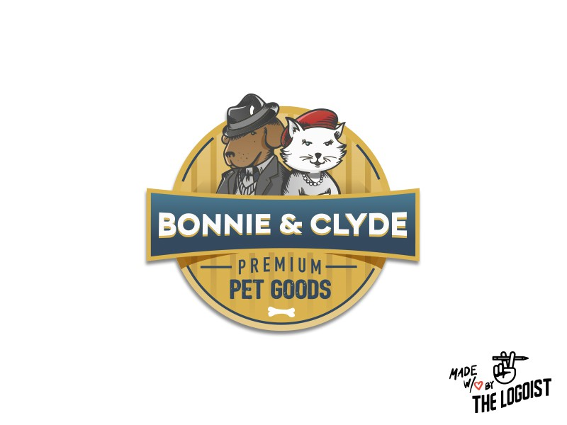 LET'S WORK TOGETHER LONG TERM ─ Create a new pet products logo and help build a brand. Testimonial after contest!