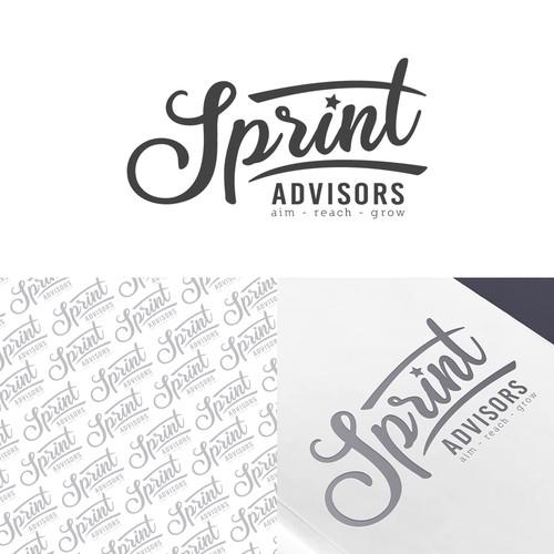 Logo design for advisory firm