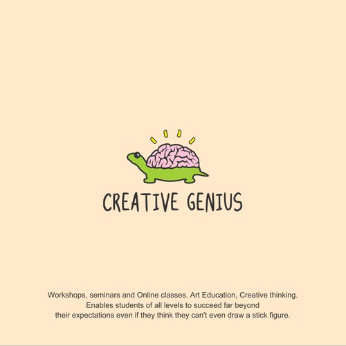 logo for Creative Genius