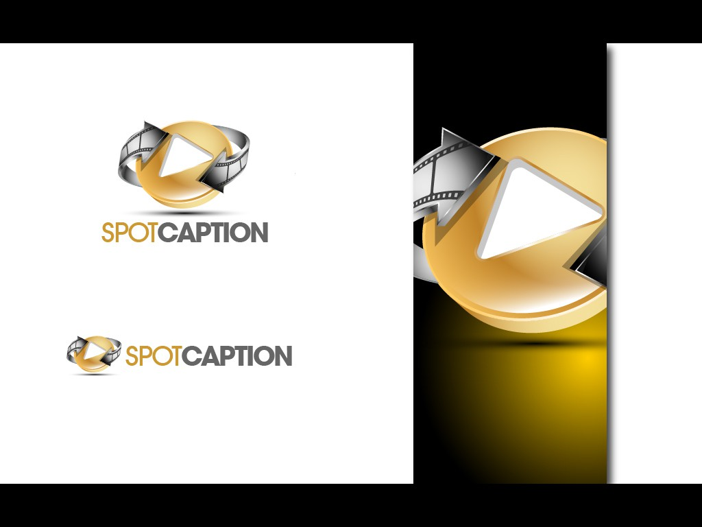 Help design a logo for 'SpotCaption'