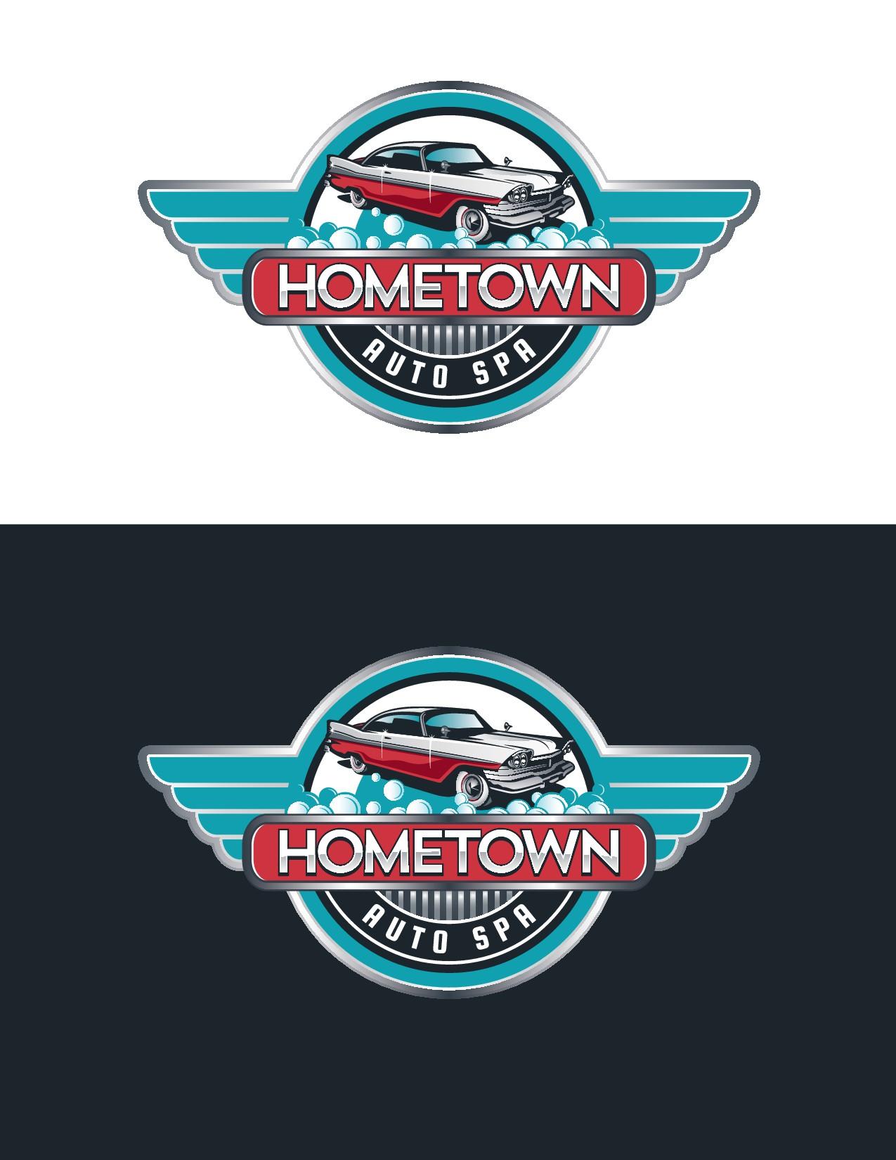 Design VINTAGE Logo for High-End Local Car Wash