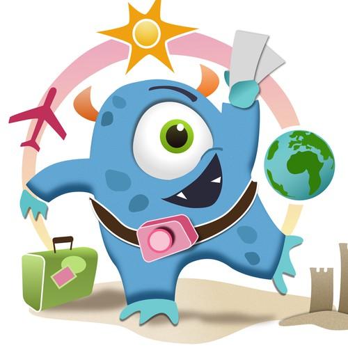 Fun Travel Monster