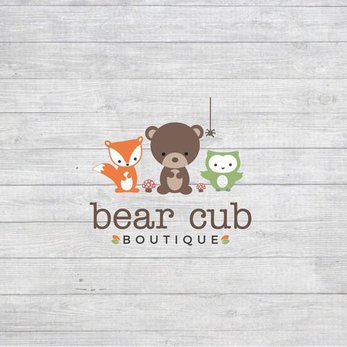 Simple and cute logo for the children's shoe and accessory store