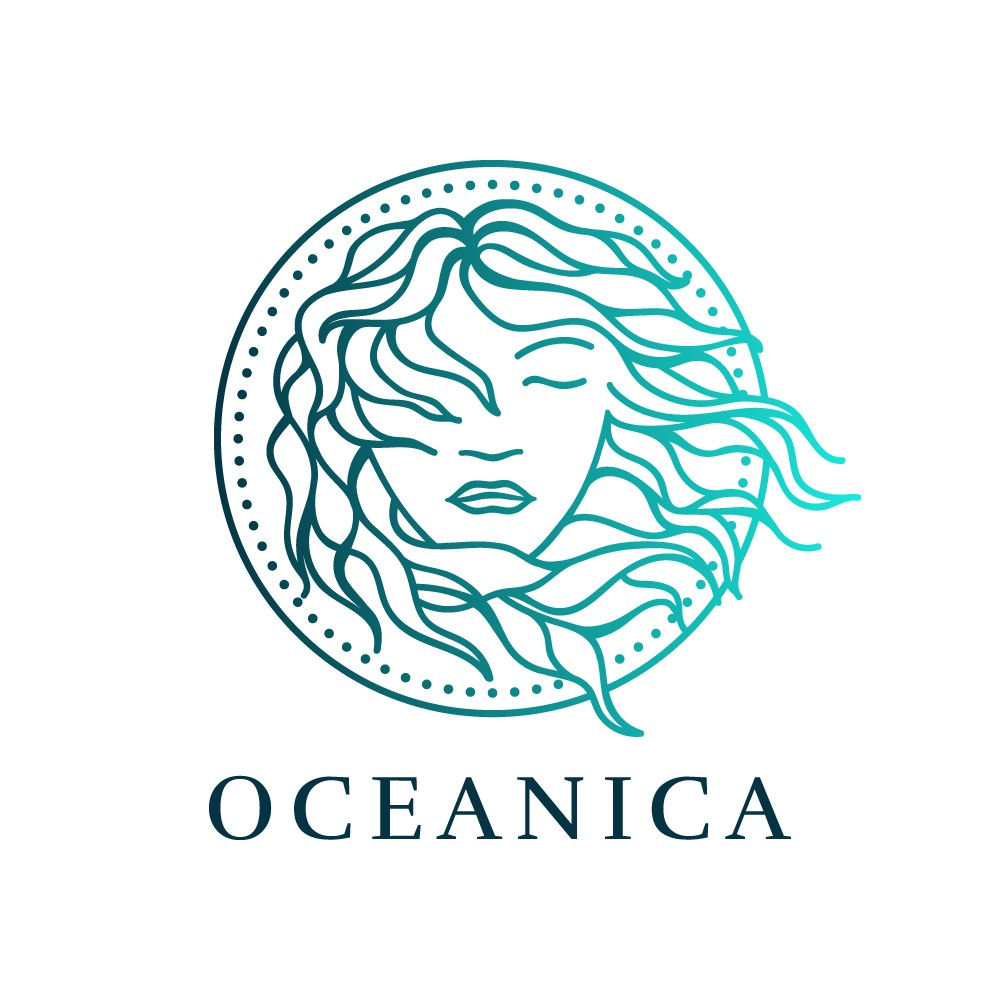 Design a sophisticated but wild beauty for Oceanica Skincare