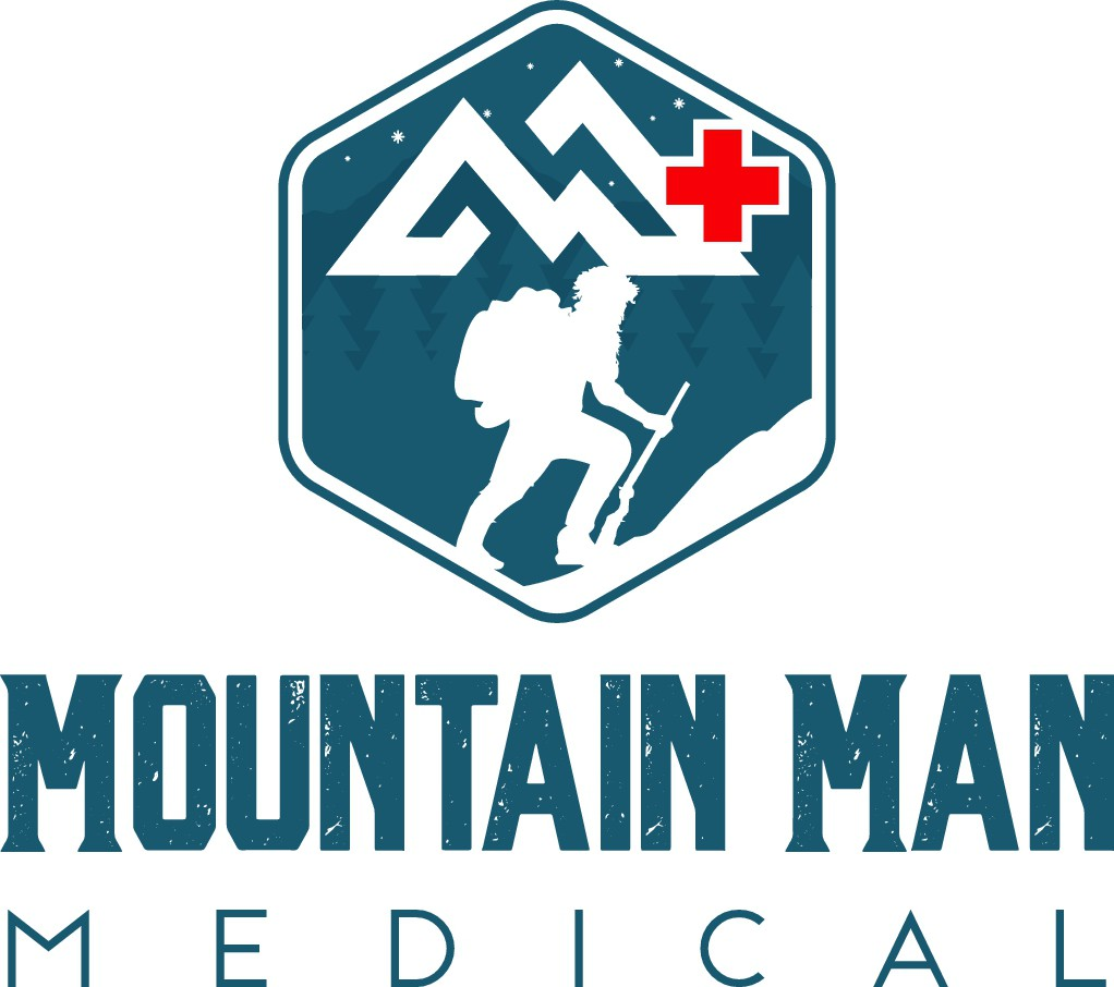 Mountain Man Logo for New Medical Gear Brand - Rugged Outdoorsman!