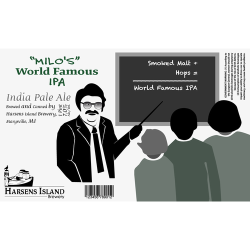 Microbrewery Label