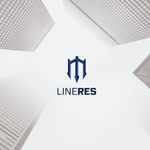 Modern minimal realty logo