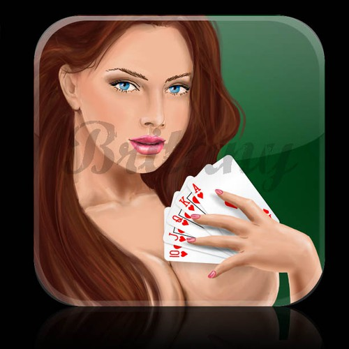 Icon Strip Poker app for the iPhone