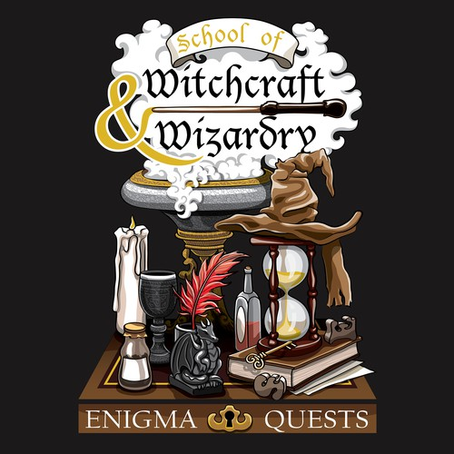 Tshirt Design for Escape room by Enigma Quests