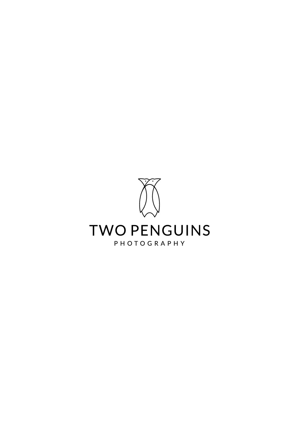 Two Penguins photography logo