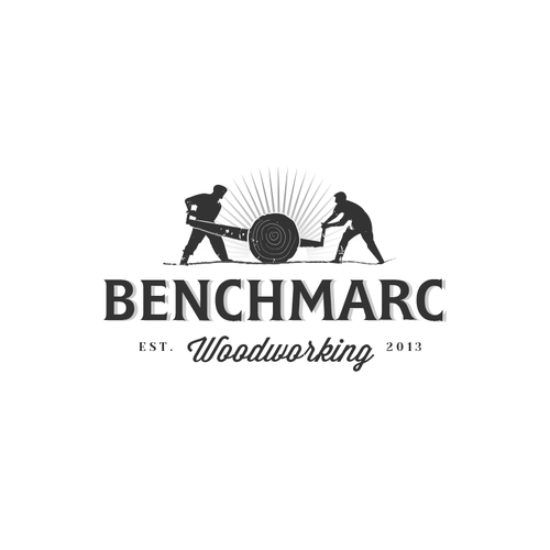 Jaw dropping logo needed for benchmarc woodworking