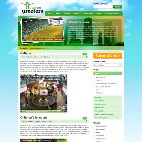 Houstongreeters.org  WordPress