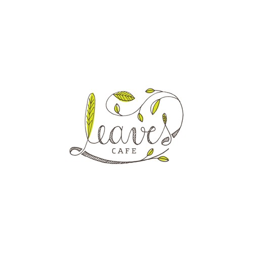 A yummy logo for a yummy cafe